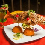 Whole Red Snapper  (The Grill King Restaurant)