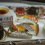 どれも美味しそうなケーキ♥迷っちゃう(*′皿`艸)