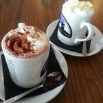 Yummy hot chocolate!