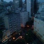 vista do apartamento 1003- porto alegre amanhecendo