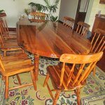 Dining Table with Chairs out of Jobillo