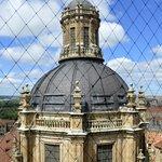 Cúpula de La Clerecía desde las torres de la Catedral Nva.