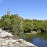 Puente Romano sobre el Río Tormes.