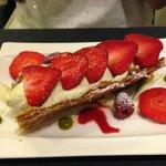 Pistache fraises léger et savoureux