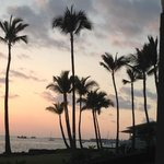 Beautiful sunsets from lanai