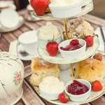 We are famous for our scrummy cream teas