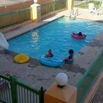 Clean looking pool
