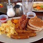American Breakfast Plate