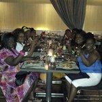 Dining at the Level Quatro...excellent service!!