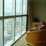 room with panorama window