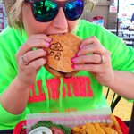 Best Elk & Buffalo burger in town!