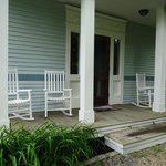 porch at Carriage House