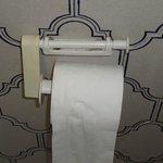 Broken toilet roll holder