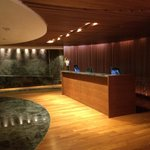 Spa reception desk