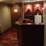 Small bar in room