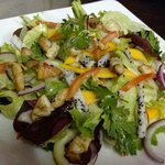 Seasonal Salad with grilled Chicken Breast
