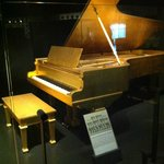 Elvis Presley's Gold Piano at Country Music Hall of Fame