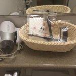 Basket of amenities
