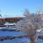 Teve neve durante o nossa estadia, incrível!