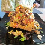 "This was a ""duck"" nacho appetizer.  It was delicious!!"