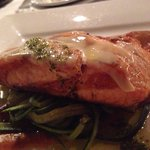 Salmon, main dish = so light and perfect