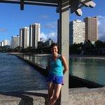 06:30hrs~Walking the length of Waikiki Beach to Diamond Head and back.