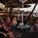 Moana Surfrider on Waikiki Beach. this was our absolute favourite to have our sundowners!!