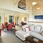 2 & 3 bedroom villas loving area & kitchen