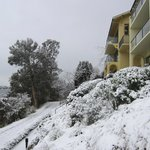 Villas in winter