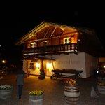 Pineta hotel reception at night
