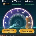 WiFi Speedtest 3:35pm