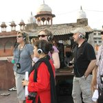 Guests with our Group Tour Systems, to cut the noise and to make sure each guest has a good time