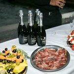 Prosecco and nibbles