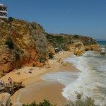 Praia Dona Ana en face de l'hotel