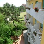 Hotel Gregory*** Milano Marittima - view of balcony