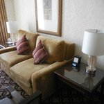Sitting area of the suite - Excellent Sofa bed