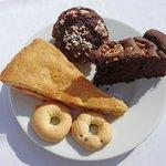 3 verschiedene Kuchen zum Frühstück