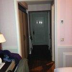 """""""couloir"""" menant à la porte"""