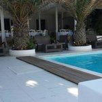 La piscine de devant