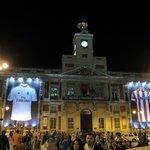 Puerta del Sol by night