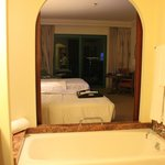 View from bathroom to room (Club room)
