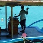 Mohammed, dive boat captain
