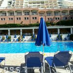 view from activity pool