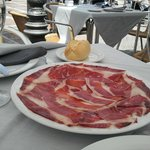 jamon iberico de bellota , al Restaurante Casa Ortega, Ronda, Spagna