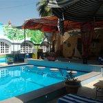Pool bar area