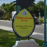The Bahama Craft Center sign off Harbour Dr.