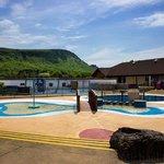 Heated Splash pools