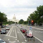 Big Bus View: Pennsylvania Ave und Capitol