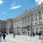 Royal Palace seen from Plaza de Oriente