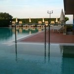 Schwimmbad mit Whirpool